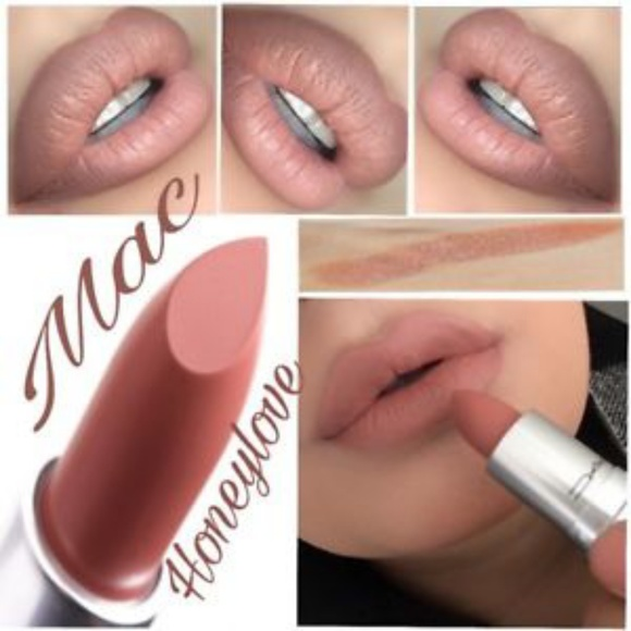 Super MAC Cosmetics Makeup | Mac Lipstick Honeylove | Poshmark &QT85